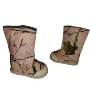 Realtree Pink Camo Boots